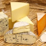 A fine selection of British cheese